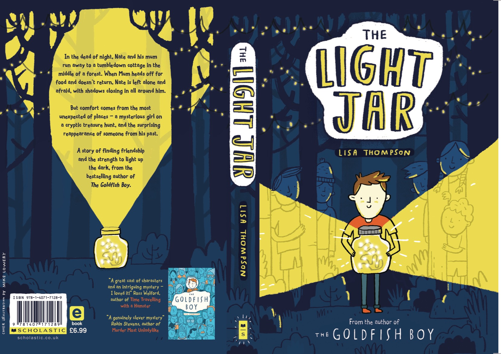 Review: The Light Jar – Lisa Thompson (Illustrated by Mike