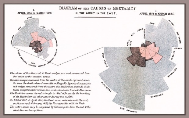 Florence Nightingale Rose Chart