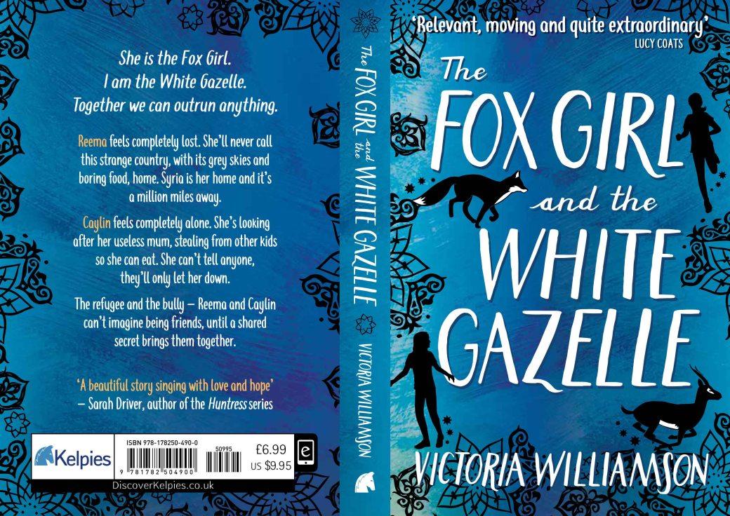 The Fox Girl and the White Gazelle Full Cover - Victoria Williamson