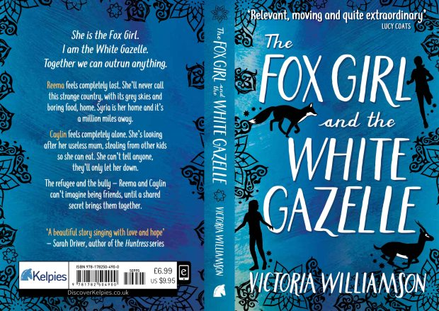 The Fox Girl and the White Gazelle Full Cover - Victoria Williamson