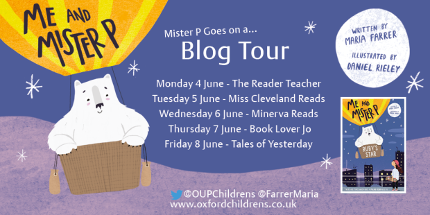 Me and Mister P Blog Tour
