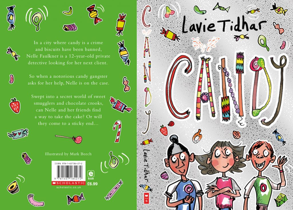95ffcc6c730f9 Blog Tour (Review & Guest Post): CANDY – Lavie Tidhar (Illustrated by Mark  Beech)