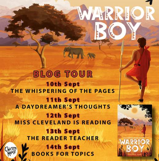 Warrior Boy blog tour banner