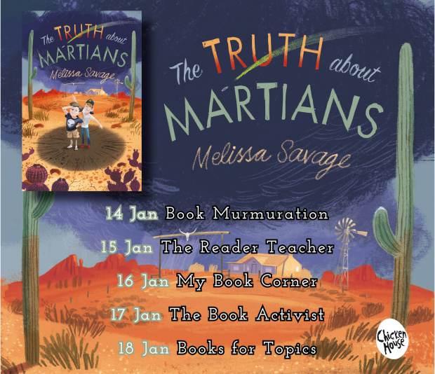 truth about martians blog tour banner