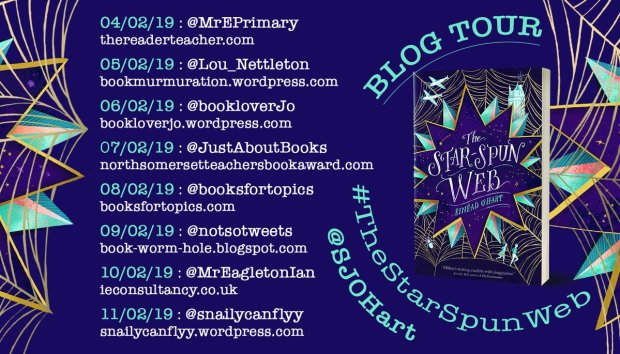 Blog Tour (Review & Author Q&A): The Star-Spun Web – Sinead